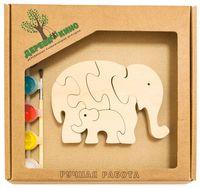 """Набор для росписи по дереву """"Два слона"""""""