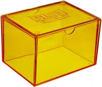 "Коробочка для карт ""Dragon Shield"" (100 карт; желтая)"