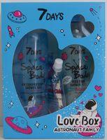"Подарочный набор ""7 Days Love Box Astronaut family"" (2 геля для душа, маска-пленка)"