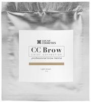 "Хна для бровей ""CC Brow. Саше"" тон: light brown"