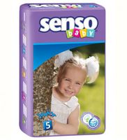 "Подгузники ""Senso baby. Junior"" (11-25 кг, 56 шт)"