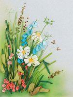 """Набор для вышивания """"Полевые цветы. Ромашки"""""""