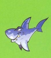 "Картина из песка ""Акула"" (210х290 мм)"
