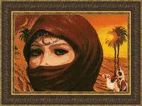 """Вышивка крестом """"Египтянка"""" (250х365 мм)"""