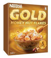"Хлопья кукурузные ""Nestle. Gold"" (300 г; мед и арахис)"