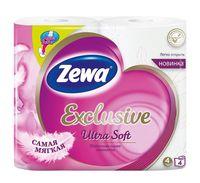 "Туалетная бумага ""Exclusive Ultra Soft"" (4 рулона)"