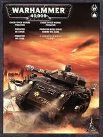 """Миниатюра """"Warhammer 40.000. Chaos Space Marines Predator"""" (43-16)"""