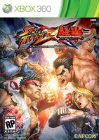Street Fighter x Tekken (Xbox 360, LT + 1.9/13599, титровый перевод на русский)