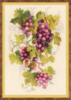 """Вышивка крестом """"Виноградная лоза"""" (арт. 1455)"""