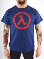 "Футболка ""Half Life - Logo Lambda""  (размер - M)"