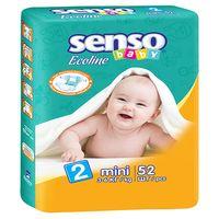 "Подгузники ""Senso baby Ecoline. Mini"" (3-6 кг, 52 шт)"