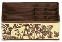 "Органайзер для белья ""Шоколадный Париж"" (320х320х110 мм; 15 ячеек)"