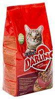 Корм сухой для кошек (2 кг; мясо и овощи)