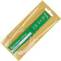 Спицы круговые для вязания (бамбук; 3 мм; 100 см)