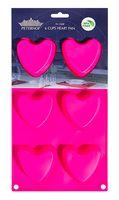 """Форма силиконовая для выпекания кексов """"Сердце"""" (287x170x24 мм)"""