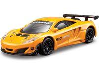 """Модель машины """"Bburago. Race McLaren 12C GT3"""" (масштаб: 1/43)"""