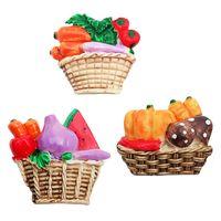 """Магнит """"Овощи и фрукты в корзинке"""""""