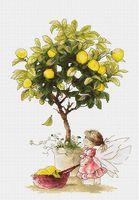 "Вышивка крестом ""Лимоны"" (200х290 мм)"