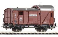 "Модель вагона ""Вагон грузовой крытый Gwhu02"" (масштаб: 1/87)"