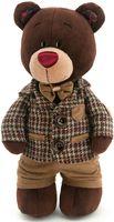 """Мягкая игрушка """"Медведь Choco в клетчатом пиджаке"""" (30 см)"""