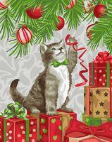 "Картина по номерам ""Игривый котенок"" (400х500 мм)"