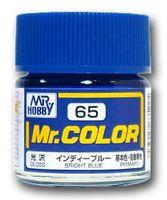 Краска Mr. Color (bright blue, C65)