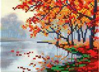 "Вышивка бисером ""Осенний пейзаж"" (арт. РСH-299)"