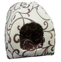 Домик для животных (36х36х29 см; молочный шоколад)