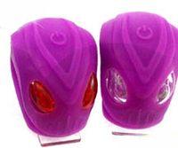 """Комплект фонарей для велосипеда """"HW BS-FT215D"""" (фиолетовый)"""