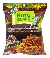"""Чипсы кокосовые """"King Island. Шоколад"""" (40 г)"""