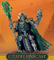 "Миниатюра ""Warhammer 40.000. Finecast: Necrons Imotekh The Stormlord"" (49-63)"