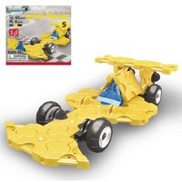 "Конструктор ""LaQ. Mini Racer Yellow"" (42 детали)"
