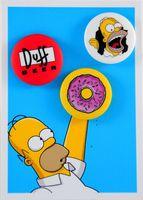 """Набор значков маленьких """"Симпсоны"""" (арт. 048)"""