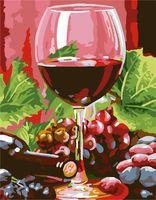 """Картина по номерам """"Красное вино"""" (300х400 мм; арт. PC3040056)"""