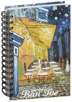 """Скетчбук """"Ван Гог. Ночная терраса кафе"""" (А5)"""