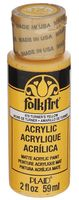 "Краска акриловая ""FolkArt. Acrylic Paint"" (гимнастический желтый; 59 мл; арт. PLD-00679)"