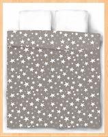 "Пододеяльник хлопковый ""Stars Grey"" (215х175 см)"