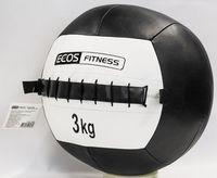 Медбол 3 кг (чёрно-белый)