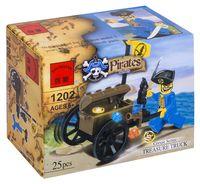 """Конструктор """"Pirates. Сокровища пиратов"""" (25 деталей)"""