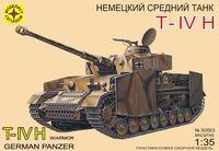 """Немецкий танк """"T-IV H"""" (масштаб: 1/35)"""