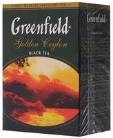 """Чай черный листовой """"Greenfield. Golden Ceylon"""" (100 г)"""