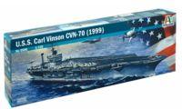 """Сборная модель """"Американский авианосец U.S.S. Carl Vinson CVN-70"""" (масштаб: 1/72)"""