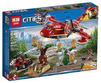 """Конструктор Cities """"Пожарный самолет"""""""