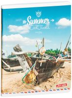 "Тетрадь в клетку ""Summer. Cool Time"" (96 листов)"