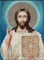"""Вышивка крестом """"Иисус Христос"""" (190х240 мм)"""