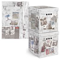 "Набор коробок складных ""Photos"" (2 шт.; 28х38х31,5 см)"
