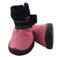 Ботинки (4,5х4х5,5 см; розовые)