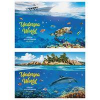 """Альбом для рисования """"Подводный мир"""" (А4; 40 листов; в ассортименте)"""