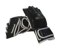 Перчатки для MMA LTB19103 (M; кожа; чёрные)