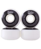 Комплект колес для скейтборда SB (4 шт.; 53х32 мм; черно-белый)
